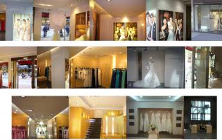 Diseño tiendas pronovias