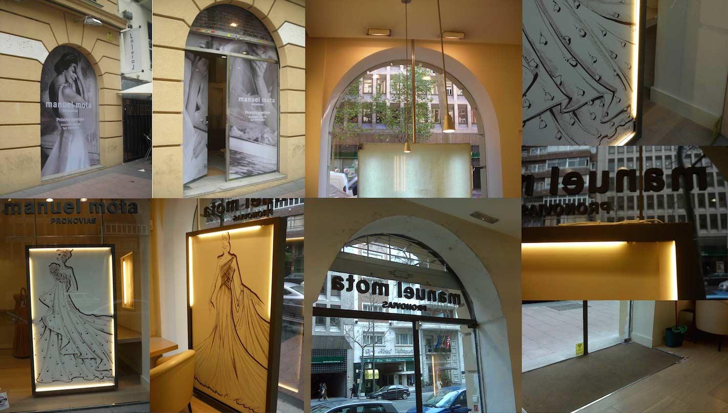 Reforma local comercial, tienda Madrid