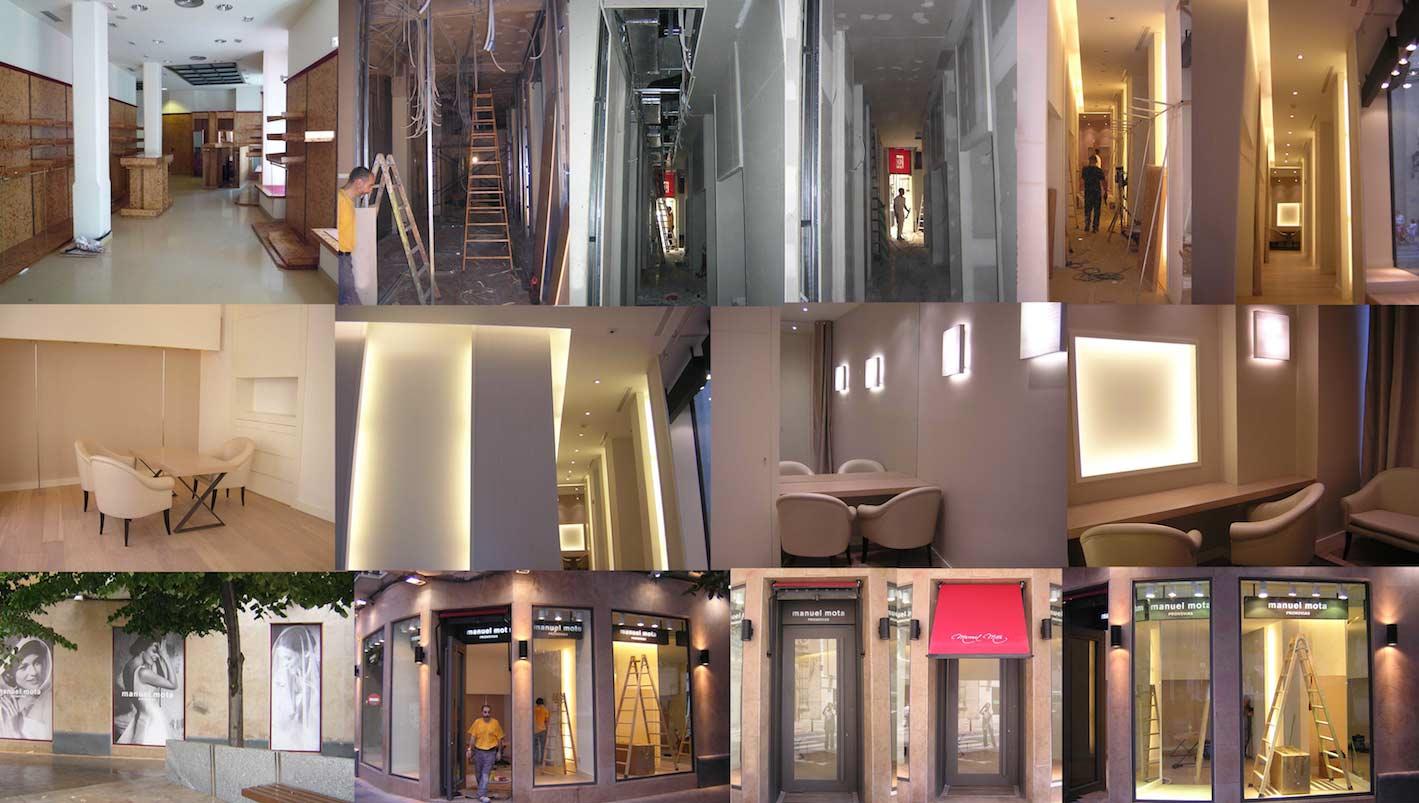 Reforma tienda Zaragoza
