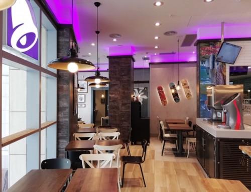 ARKO finaliza la reforma del nuevo restaurante de TACO BELL en Barcelona