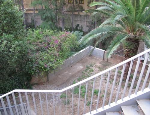 Cosmo Caixa Refuerzo Muro Contención II Barcelona